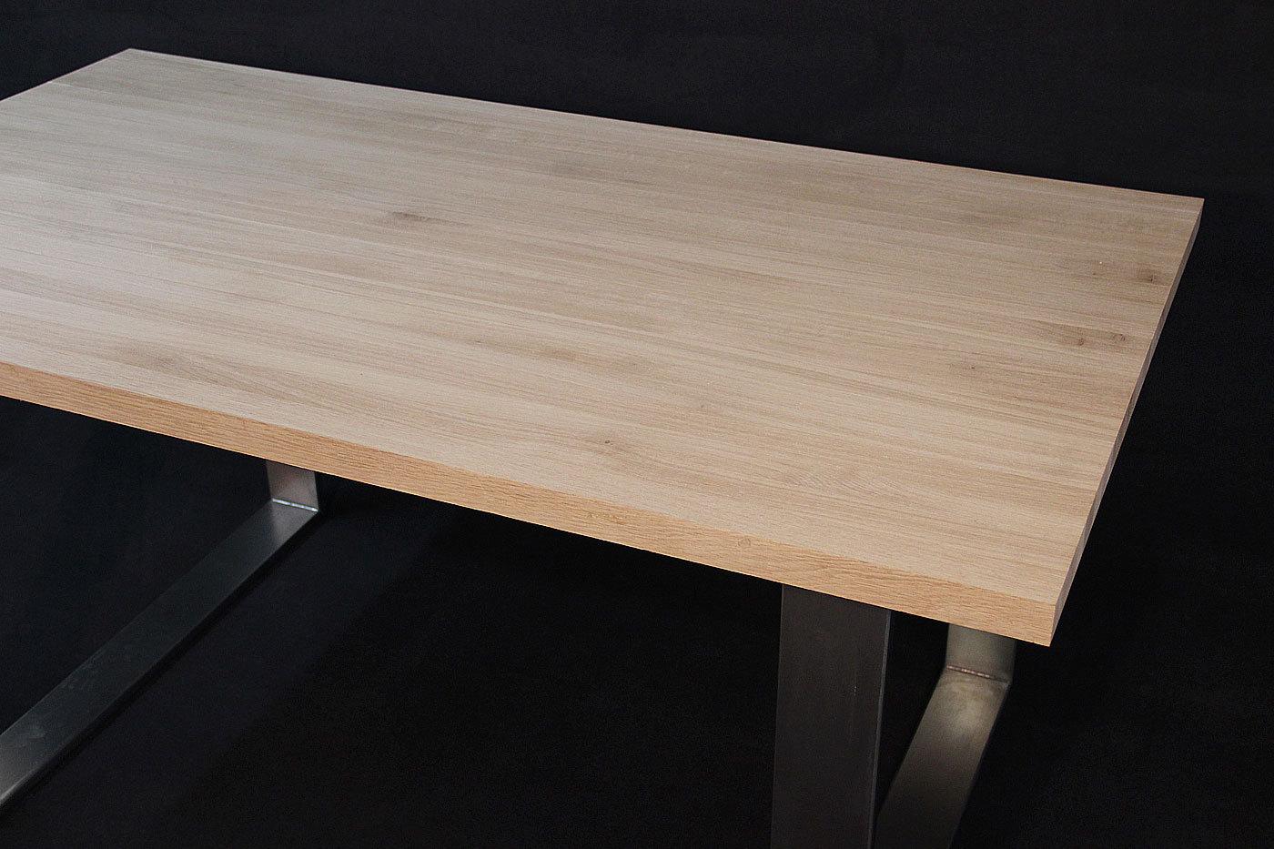 tischplatte massivholz eiche dl 40 1800 900. Black Bedroom Furniture Sets. Home Design Ideas
