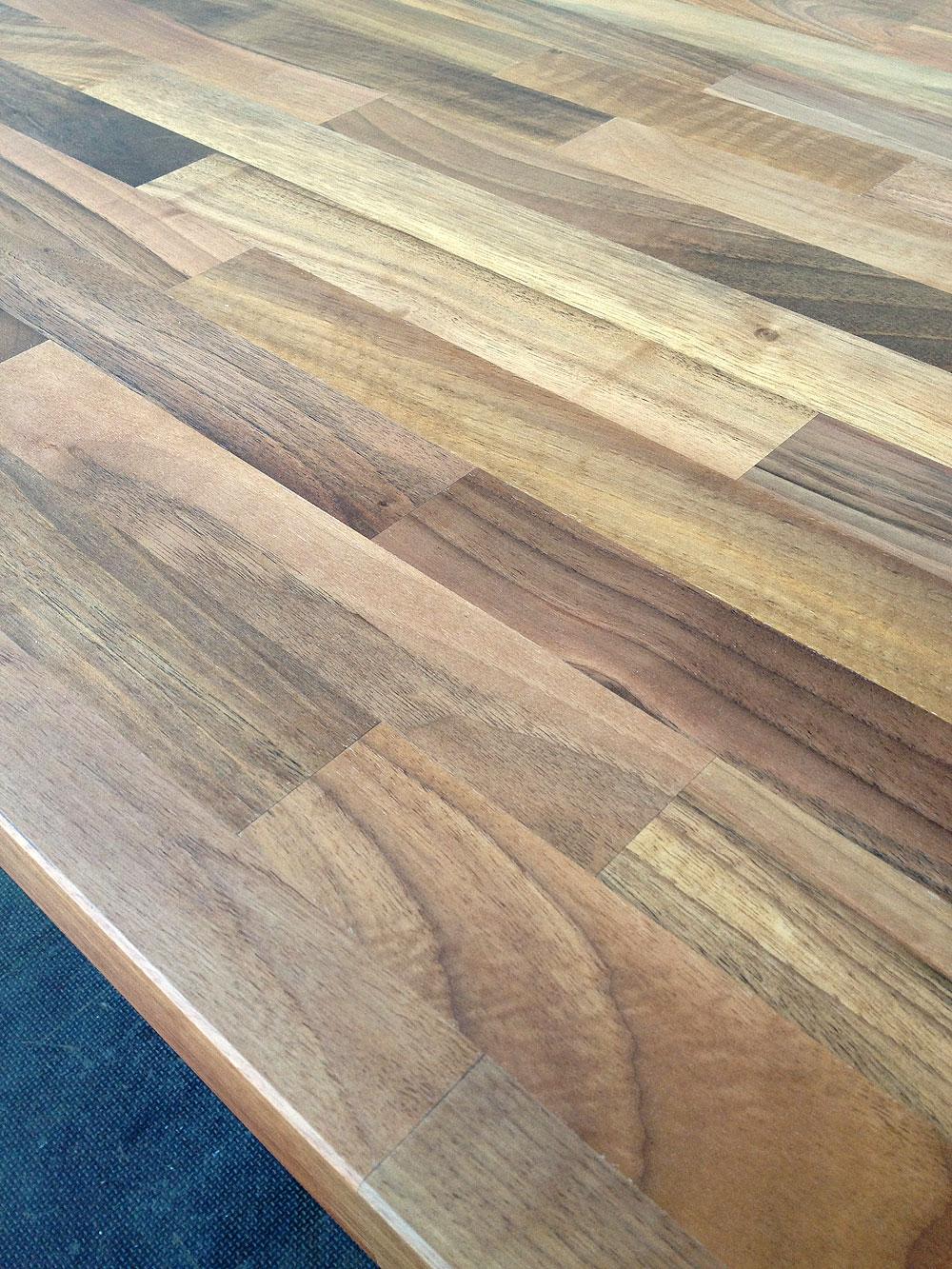 Tischplatte Massivholz Nussbaum ~ Tischplatte Massivholz Europäischer Nussbaum kgz FSC® 401800900