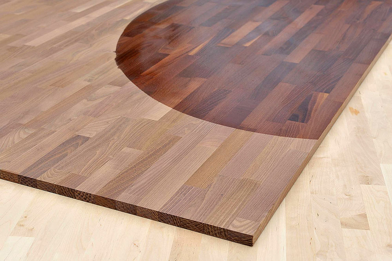 arbeitsplatte k chenarbeitsplatte massivholz akazie robinie kgz fsc 40 4100 650. Black Bedroom Furniture Sets. Home Design Ideas