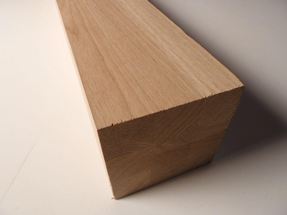 Tischbein Eiche Massivholz Quadratisch Dl 120x120mm