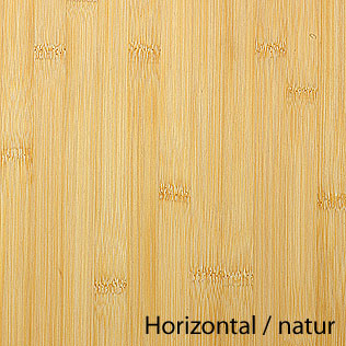 Arbeitsplatte / Küchenarbeitsplatte Bambus horizontal natur 40/3000 ...
