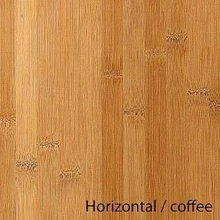 Arbeitsplatte / Küchenarbeitsplatte Massivholz Bambus horizont coffee  40/3000/700