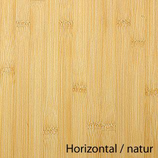 Arbeitsplatte / Küchenarbeitsplatte Bambus horizontal natur 40/4000 ...