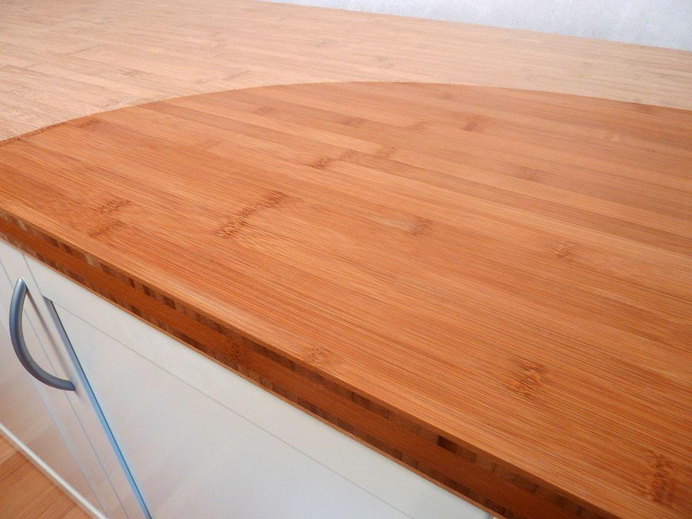 arbeitsplatte k chenarbeitsplatte bambus horizontal. Black Bedroom Furniture Sets. Home Design Ideas