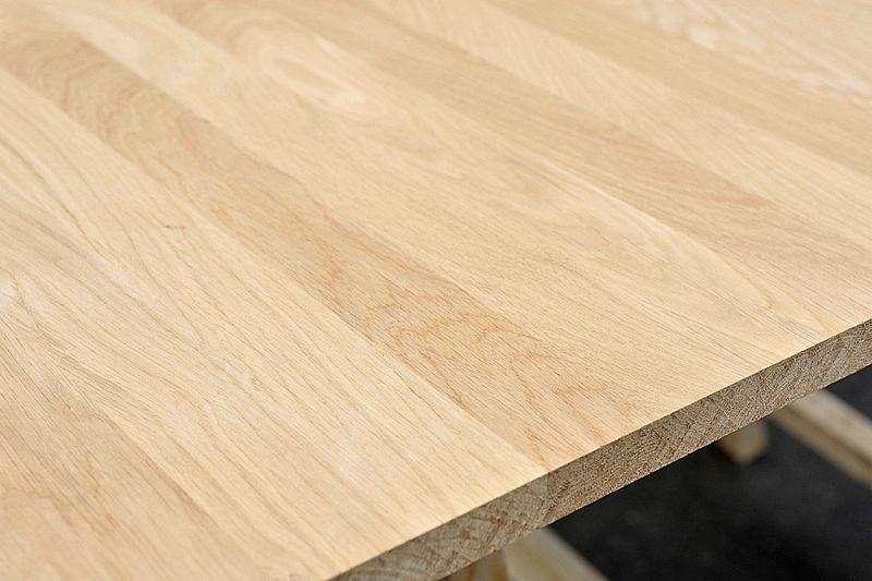 tischplatte massivholz eiche dl 38 2200 1000. Black Bedroom Furniture Sets. Home Design Ideas