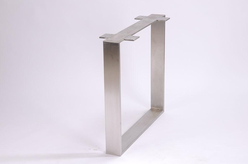 esstisch untergestell edelstahl m bel design idee f r. Black Bedroom Furniture Sets. Home Design Ideas