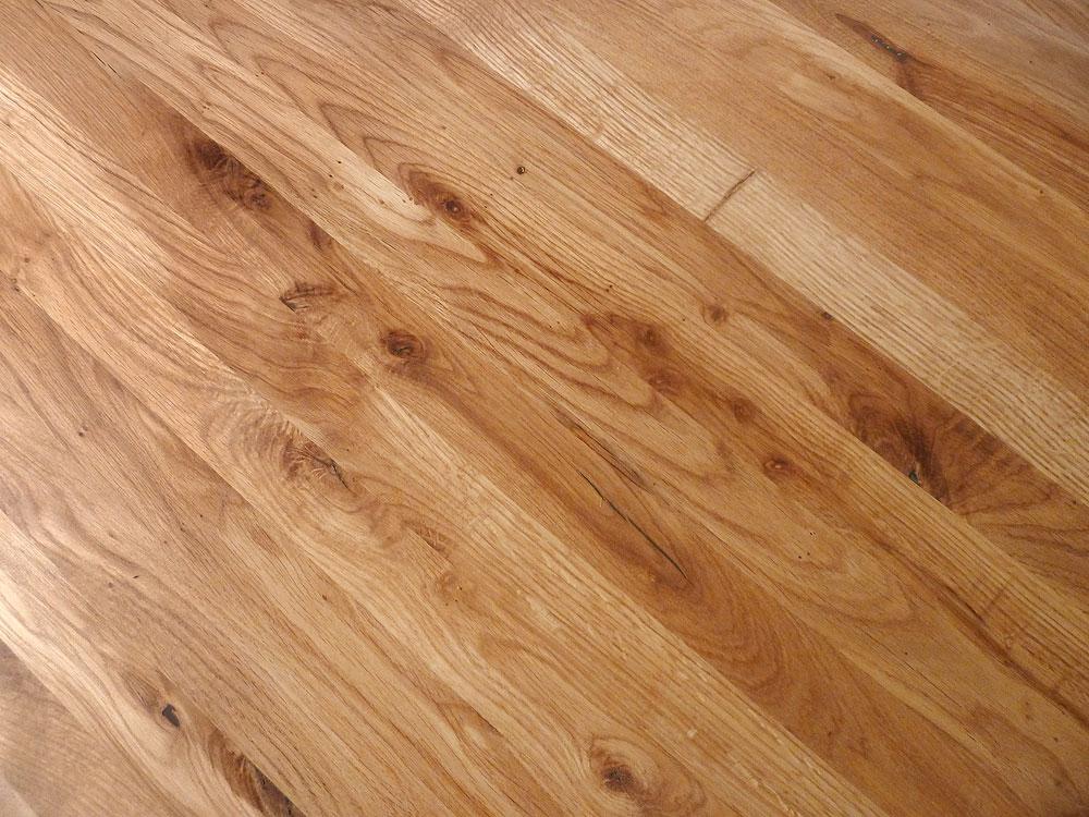 Tischplatte massivholz wildeiche asteiche dl 30 2200 1000 for Küchenarbeitsplatten massivholz