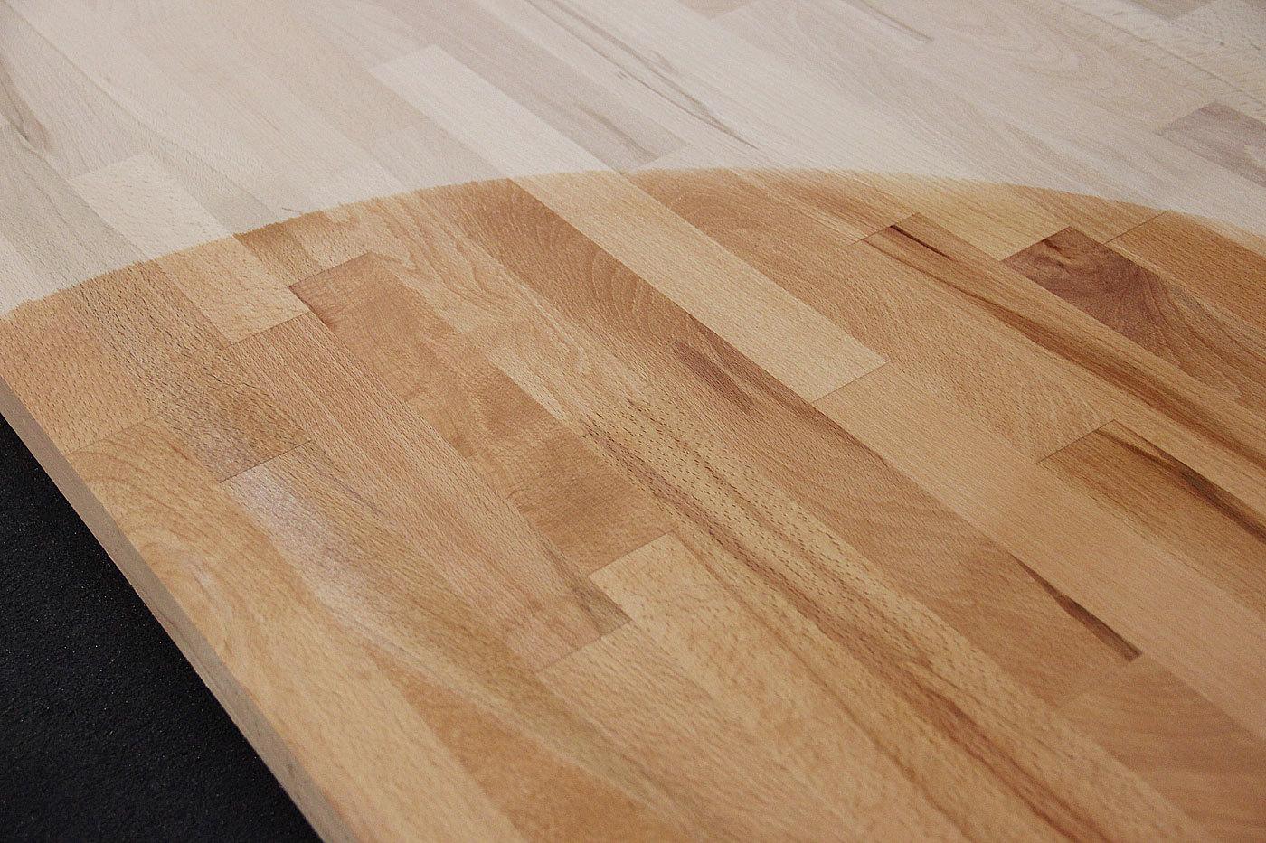 Tischplatte Massivholz Kernbuche Kgz Fsc 174 40 X Diverse