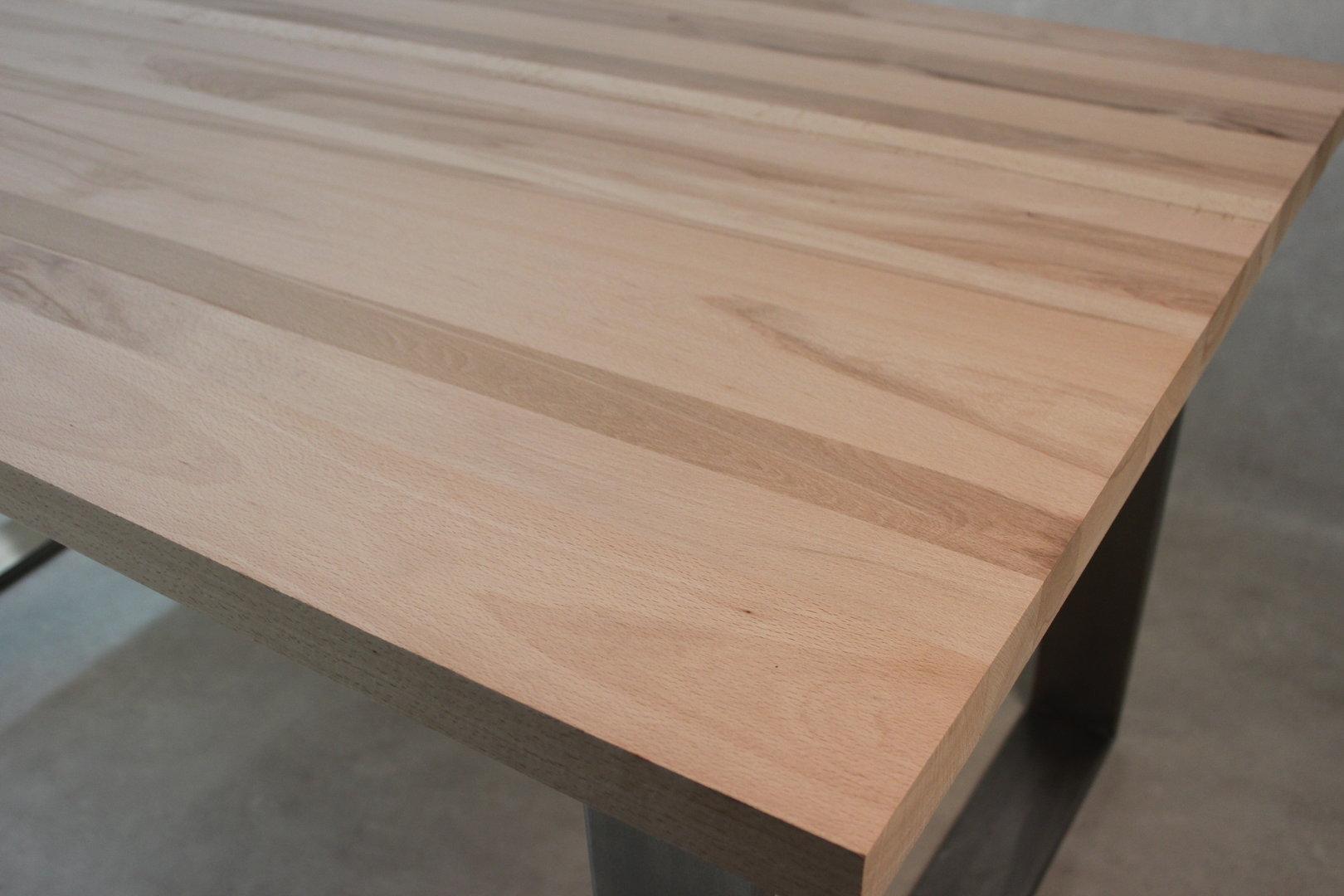 tischplatte massivholz kernbuche dl fsc 40 x diverse l ngen x 1210 mm. Black Bedroom Furniture Sets. Home Design Ideas