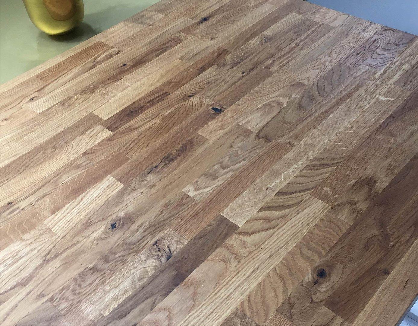 Arbeitsplatte kuchenarbeitsplatte massivholz wildeiche for Arbeitsplatte massivholz eiche