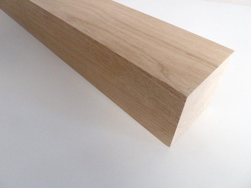 Tischbein Eiche Massivholz Quadratisch 90x90mm Dl