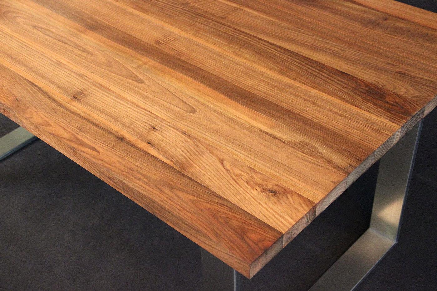 Tischplatte Massivholz Nussbaum ~ Tischplatte Massivholz Kaukasischer Nussbaum AB mit Splint DL 301800
