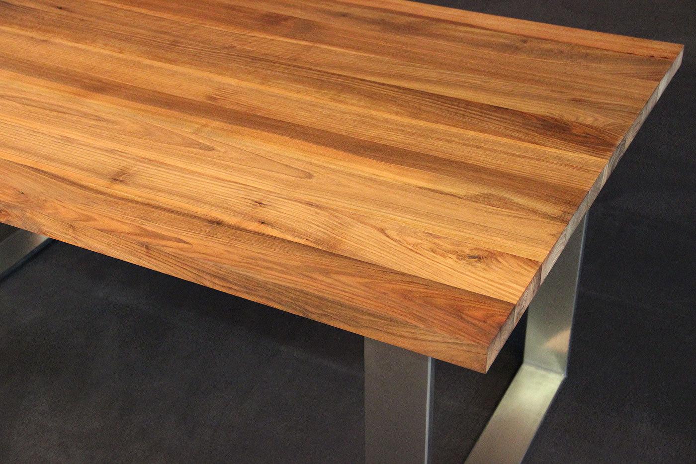 Tischplatte Massivholz Nussbaum ~ Tischplatte Massivholz Kaukasischer Nussbaum AB mit Splint DL 401600