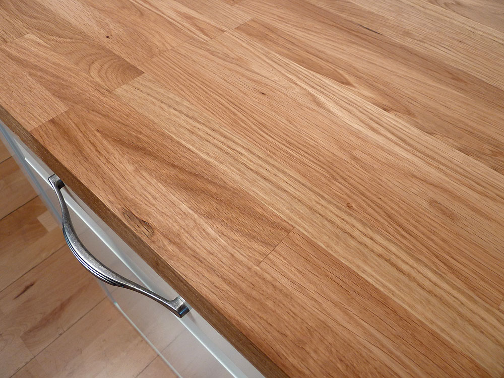 Massivholz arbeitsplatte  Küchenarbeitsplatte Massivholz Eiche kgz 40/3050/650