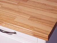 arbeitsplatte / küchenarbeitsplatte kernbuche kgz fsc® 26/40 x