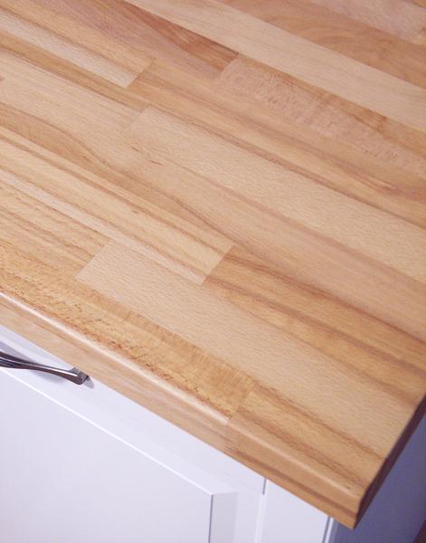 Massivholz arbeitsplatte  Küchenarbeitsplatte Massivholz Kernbuche kgz FSC® 40/3050/650