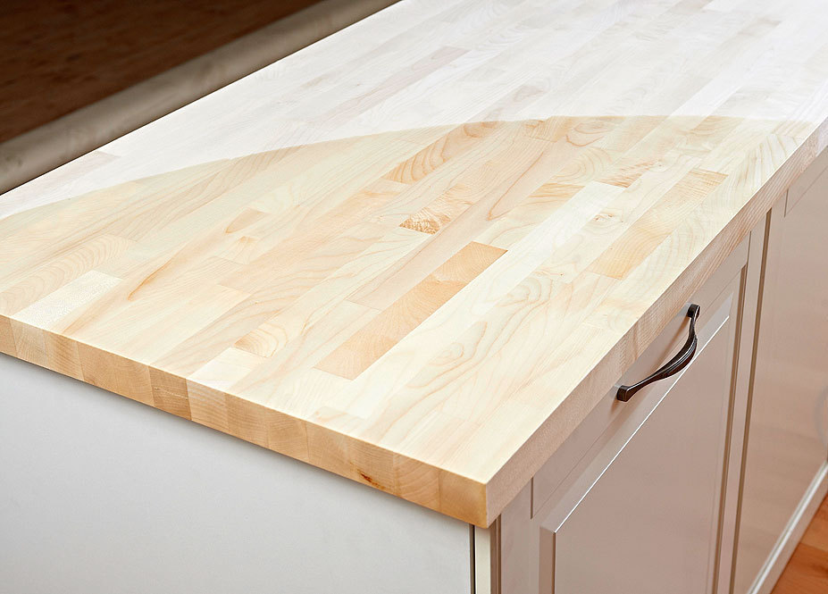 arbeitsplatte k chenarbeitsplatte massivholz ahorn kgz fsc 40 3050 650. Black Bedroom Furniture Sets. Home Design Ideas