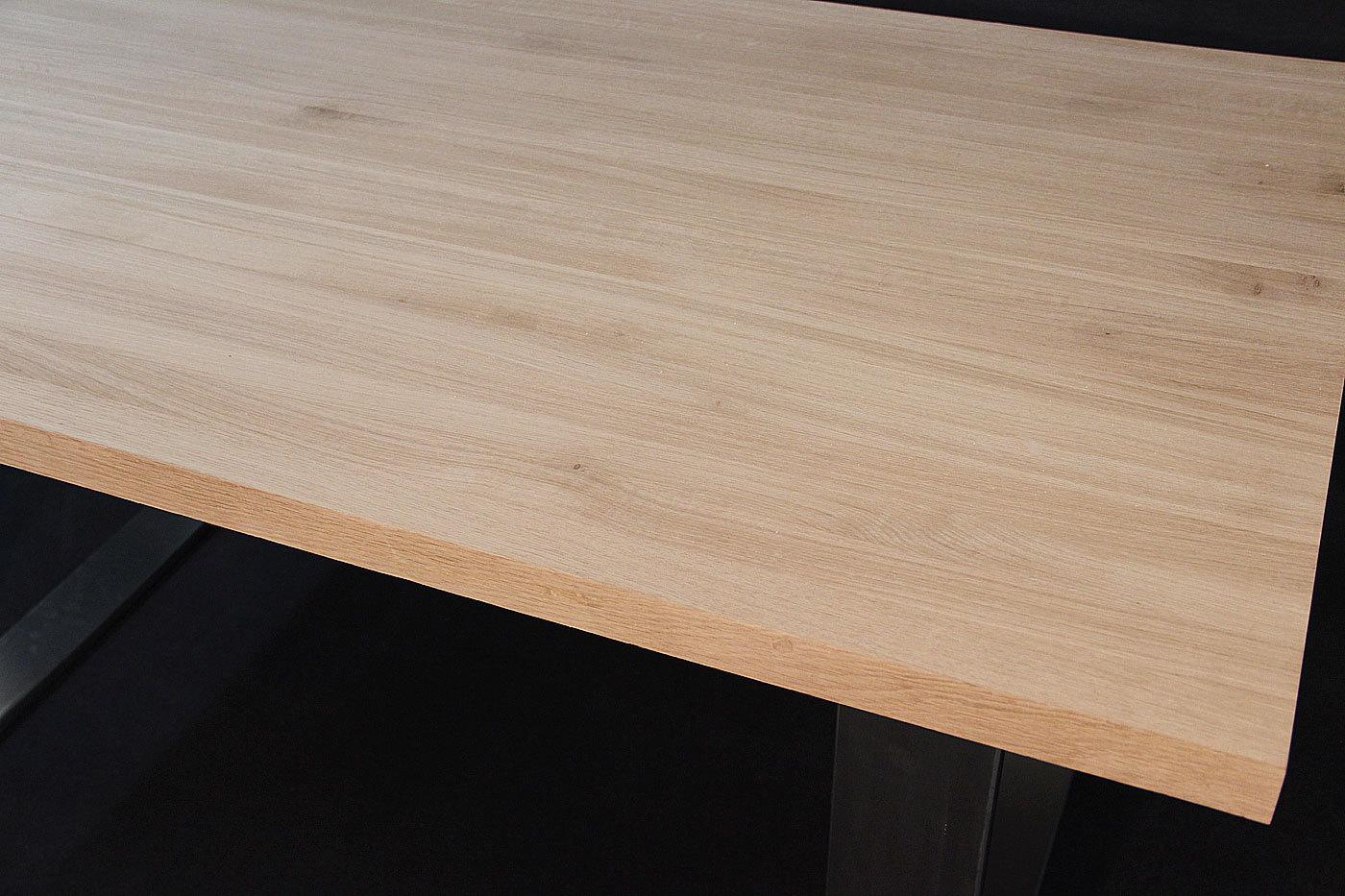 Tischplatte massivholz eiche  Massivholz Eiche DL 40/1800/900