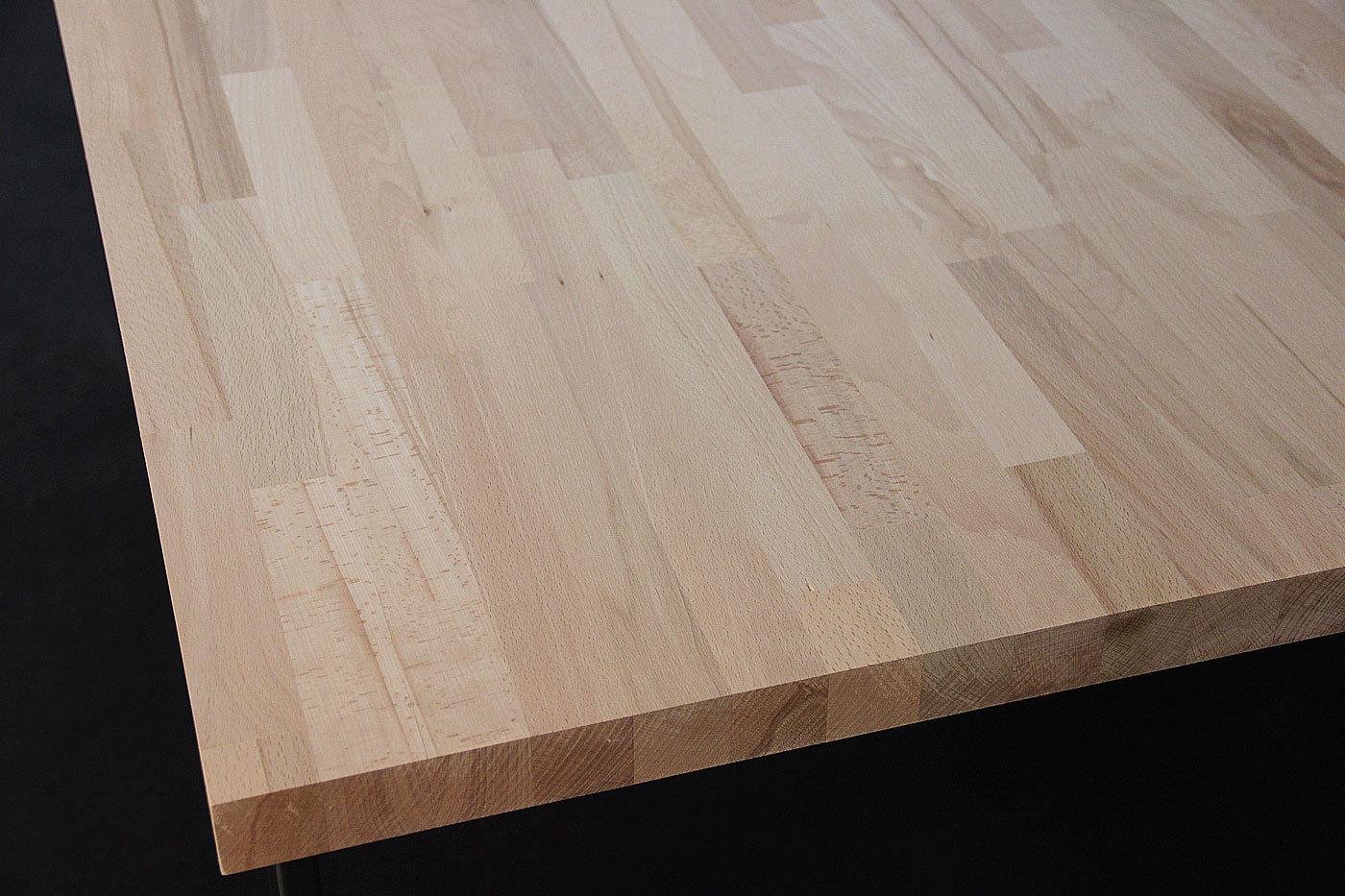 Tischplatte massivholz buche  Massivholz Kernbuche kgz FSC® 19/2500/1250