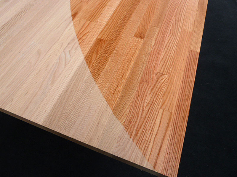 arbeitsplatte k chenarbeitsplatte massivholz roteiche. Black Bedroom Furniture Sets. Home Design Ideas
