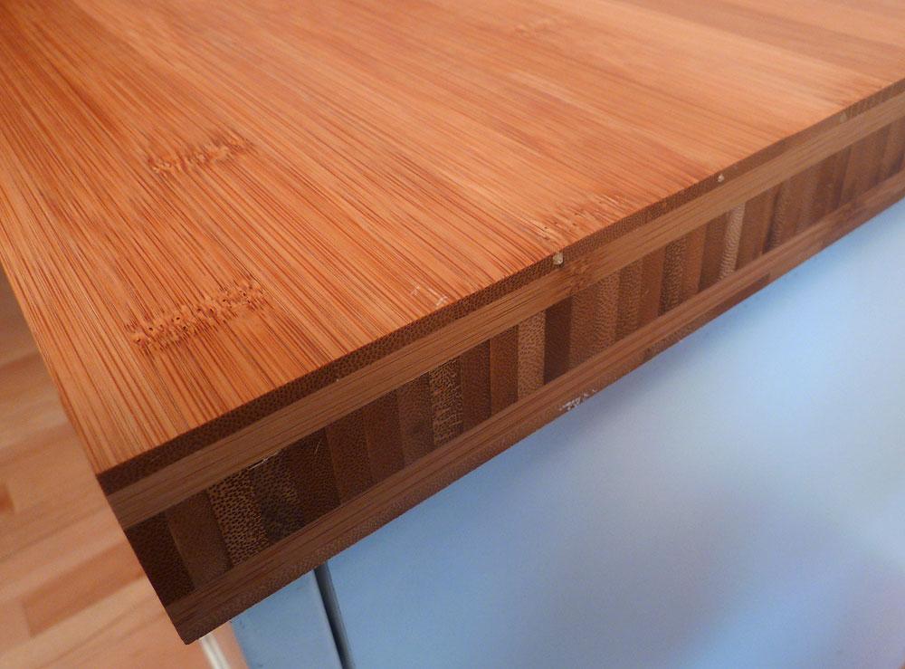 Unterschiedlich Arbeitsplatte / Küchenarbeitsplatte Bambus horizontal coffee 40  QK91