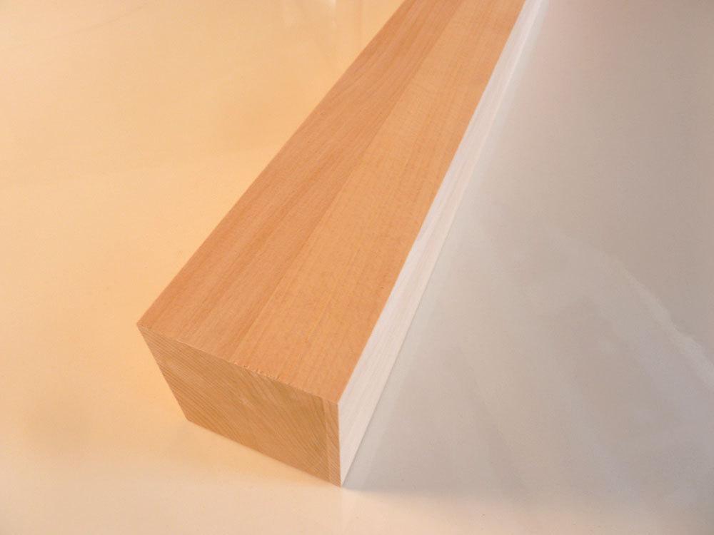Tischbein Buche Massivholz Quadratisch Fsc Dl 80x80mm