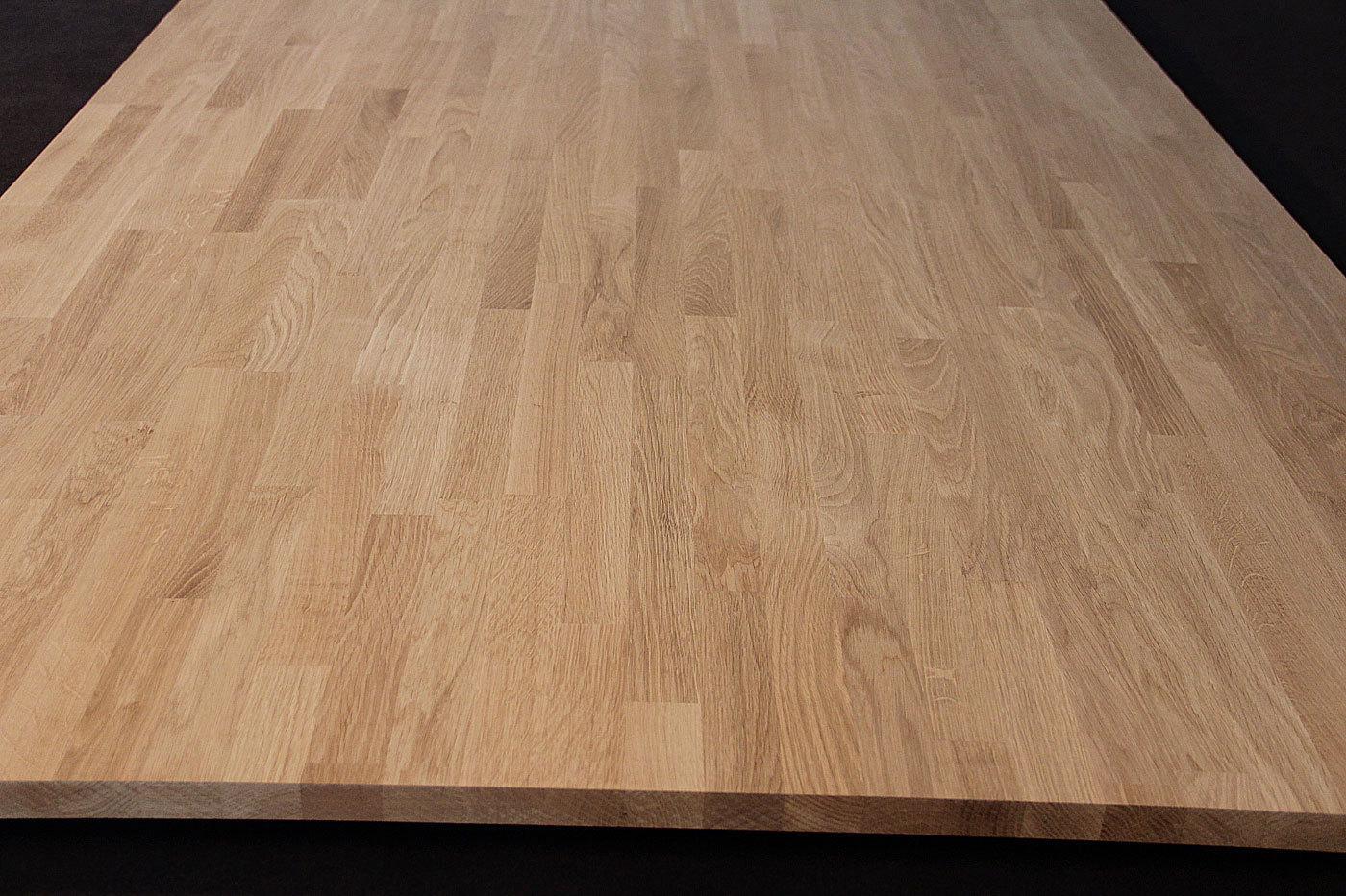 arbeitsplatte k chenarbeitsplatte massivholz eiche kgz 26 2900 900. Black Bedroom Furniture Sets. Home Design Ideas