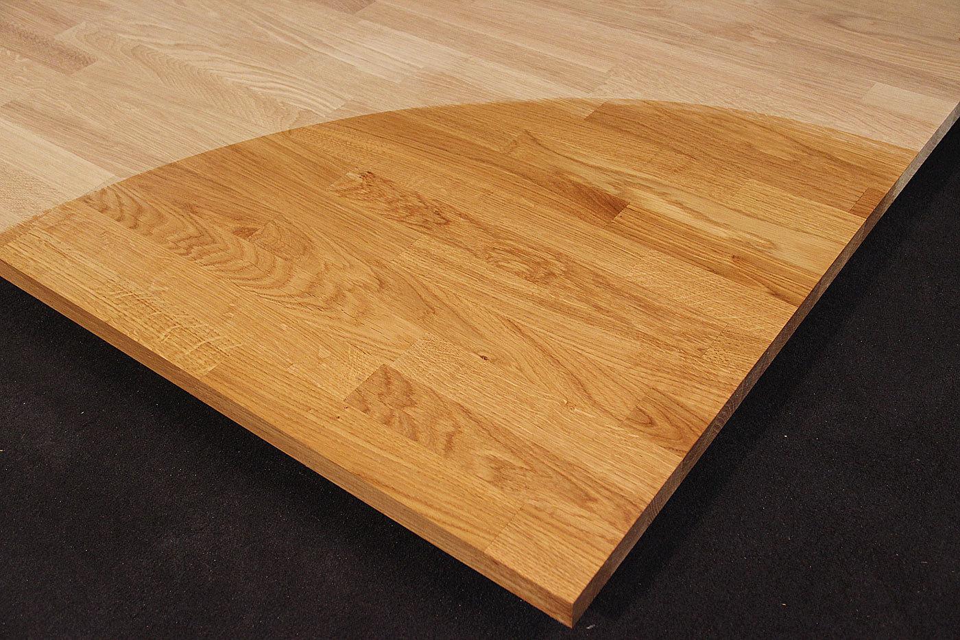 Küchenarbeitsplatte eiche  Küchenarbeitsplatte Massivholz Eiche kgz 26/2900/900