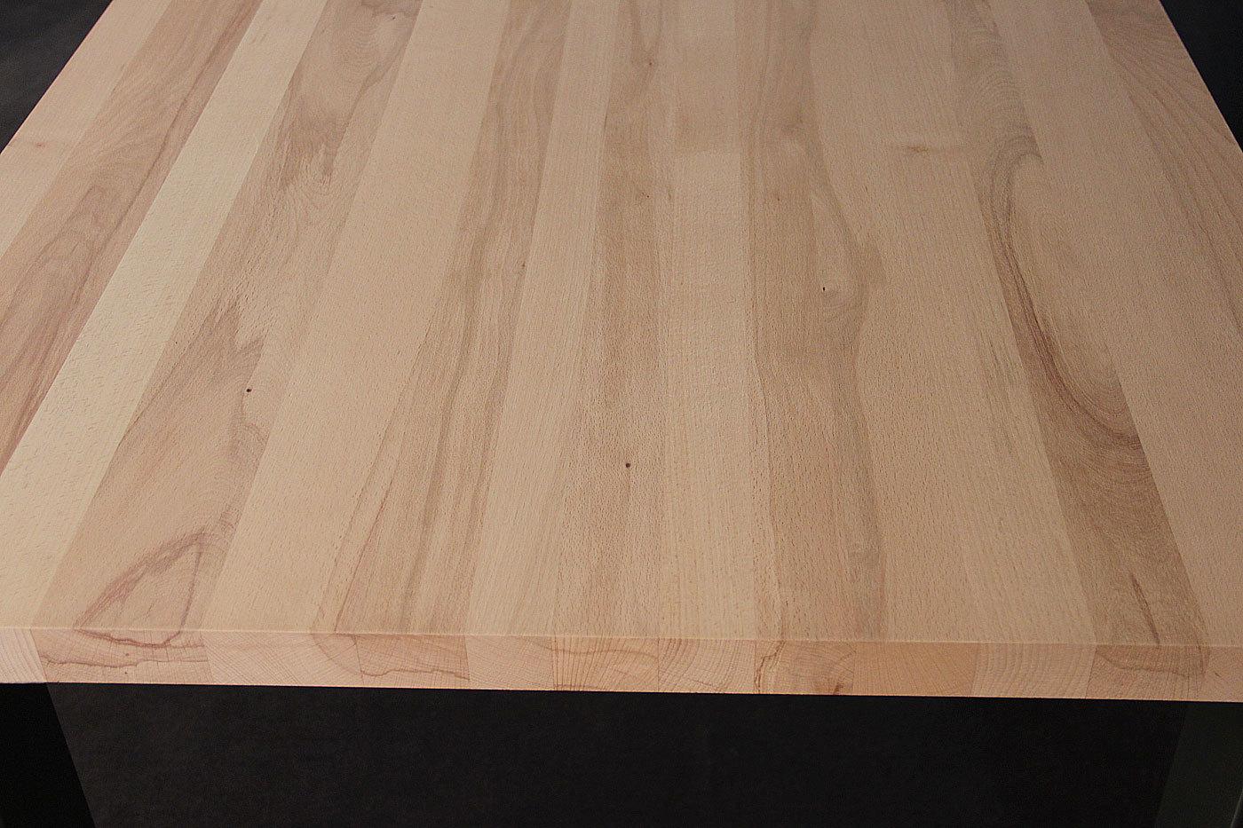 Tischplatte massivholz buche  Massivholz Kernbuche DL FSC® 40/1800/900