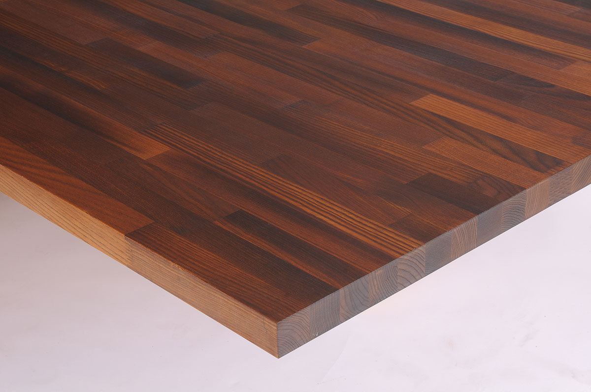 Tischplatte massivholz  Massivholz Thermoesche geoelt kgz 40/1800/970