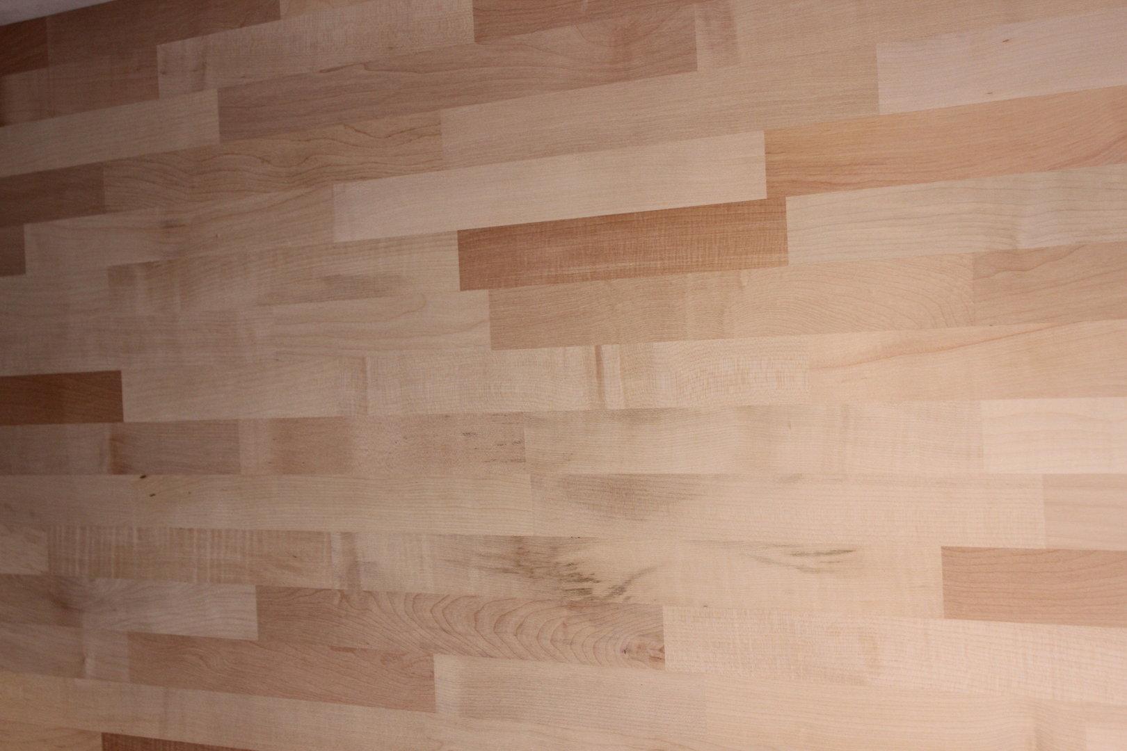 Küchenarbeitsplatte Massivholz Wildahorn FSC® 40/4100/650