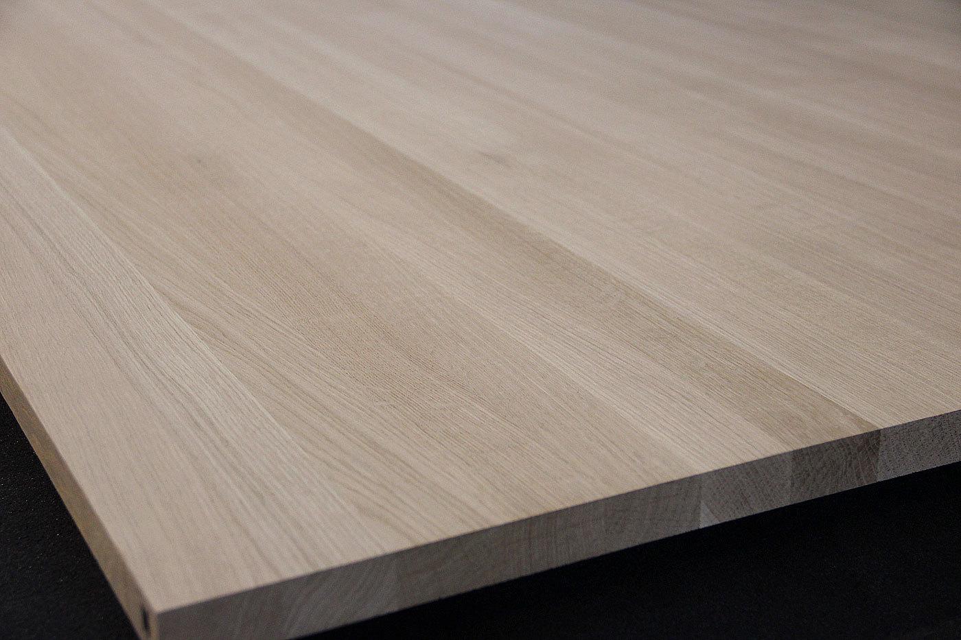 Mobelbauplatte Tischplatte Massivholz Eiche Dl 26 1025 1025