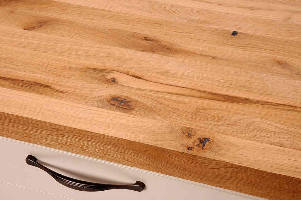 arbeitsplatte eiche rustikal. Black Bedroom Furniture Sets. Home Design Ideas