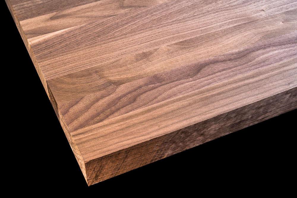 Tischplatte Holz / Massivholz Schwarznuss / Black Walnut ...