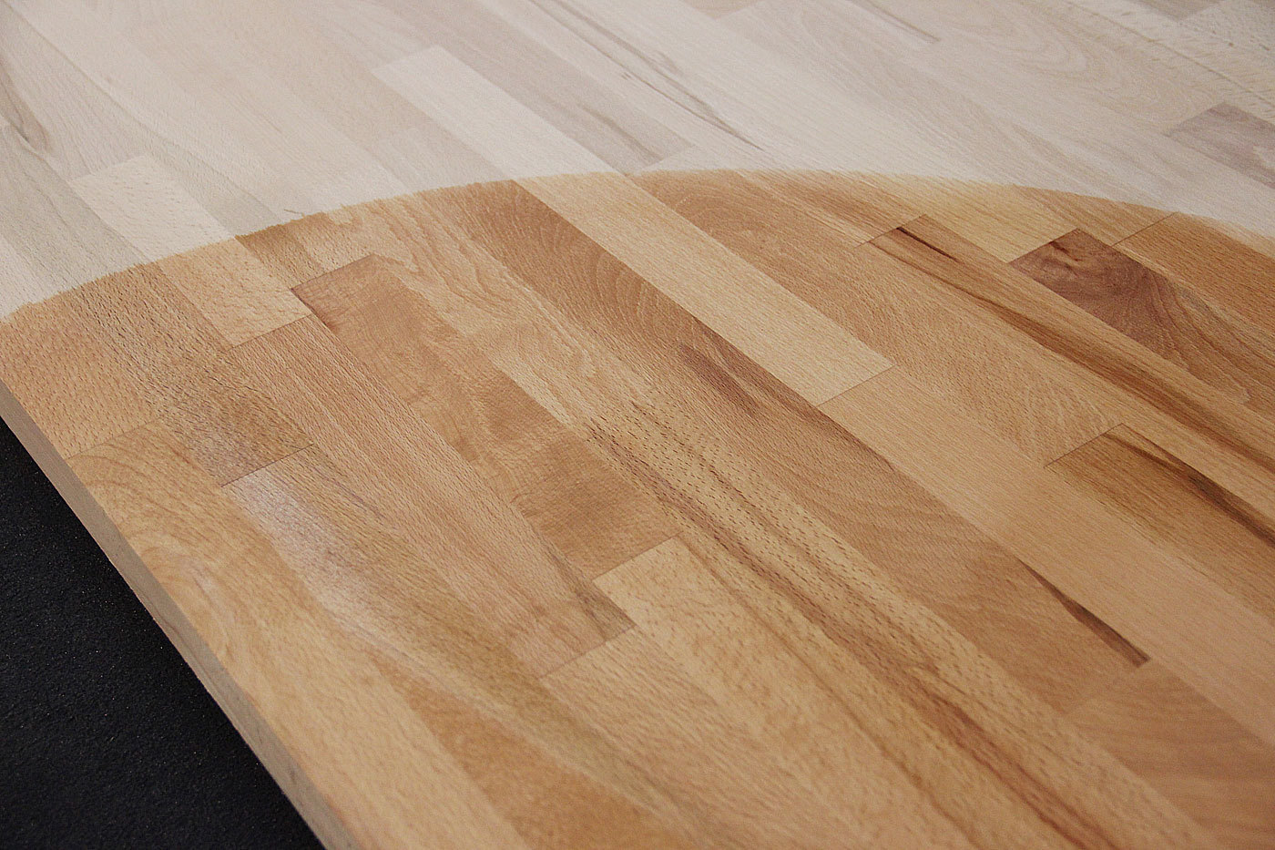 Tischplatte massivholz buche  Massivholz Kernbuche kgz FSC® 40 x diverse Längen x 1000 mm