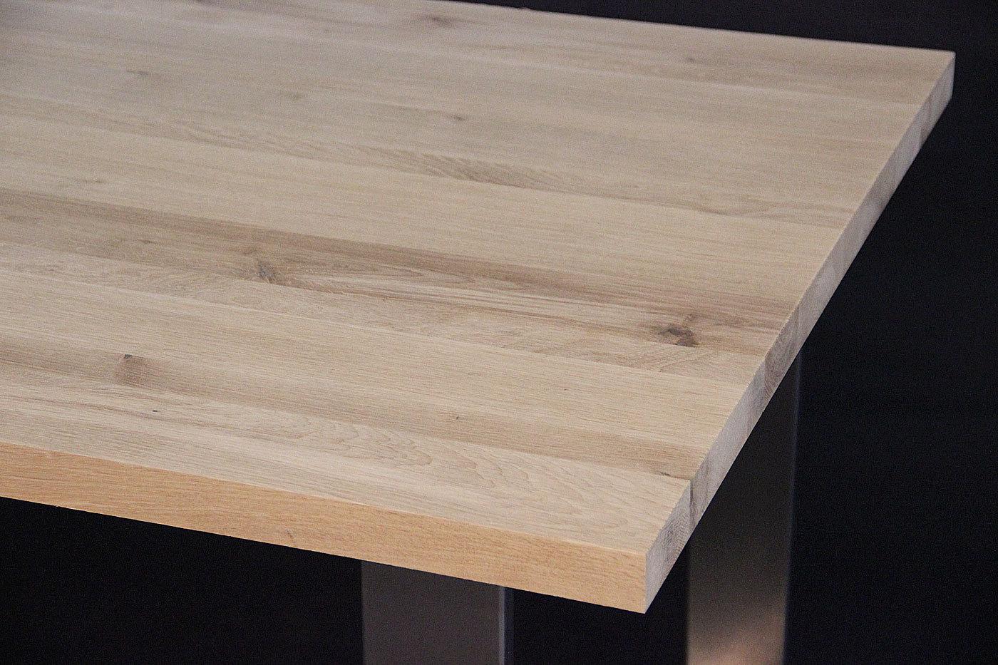 tischplatte massivholz wildeiche asteiche dl 40 x diverse l ngen x 1210 mm. Black Bedroom Furniture Sets. Home Design Ideas