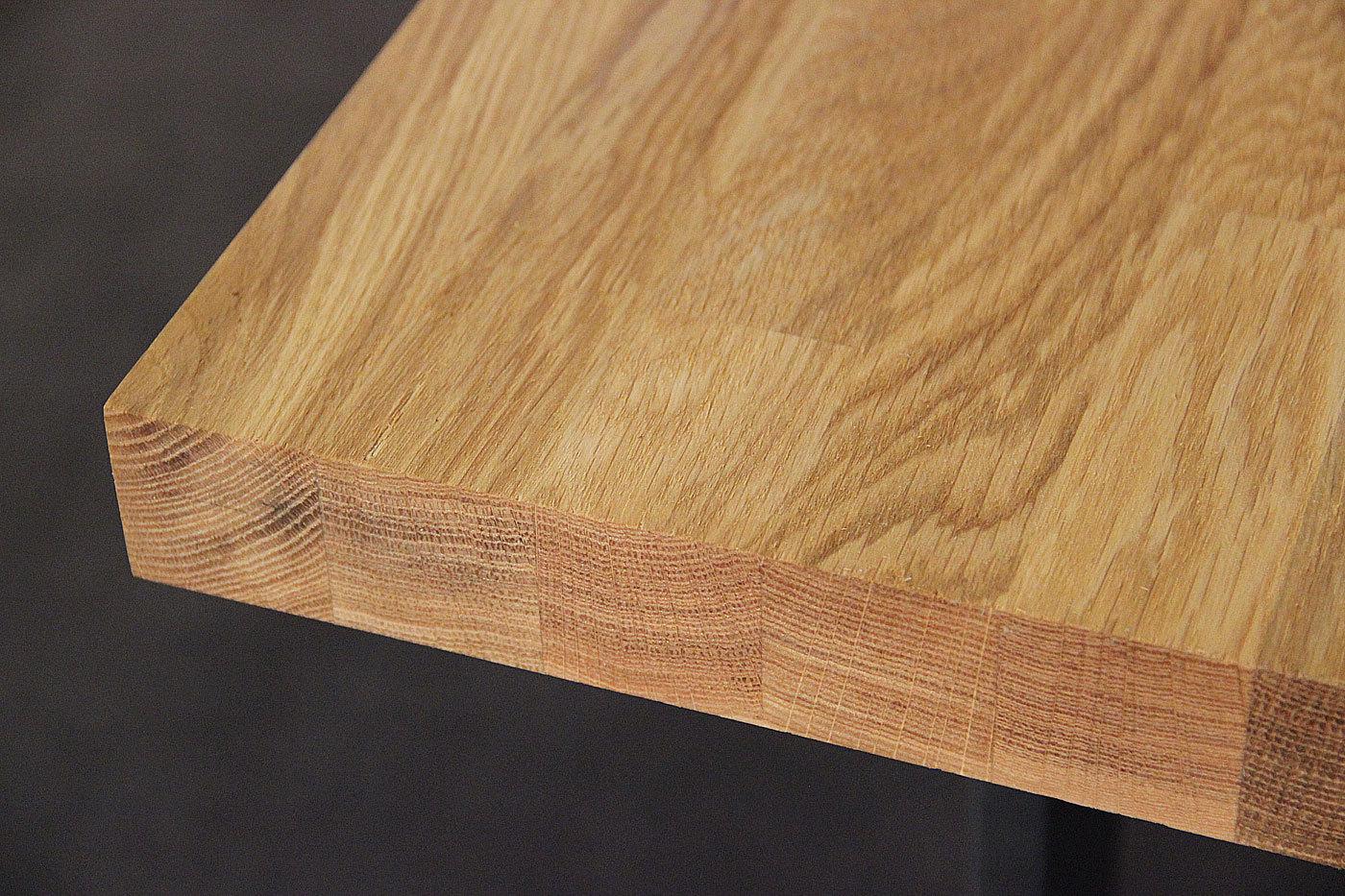 Tischplatte massivholz eiche kgz 40 1800 900 for Tischplatte massivholz
