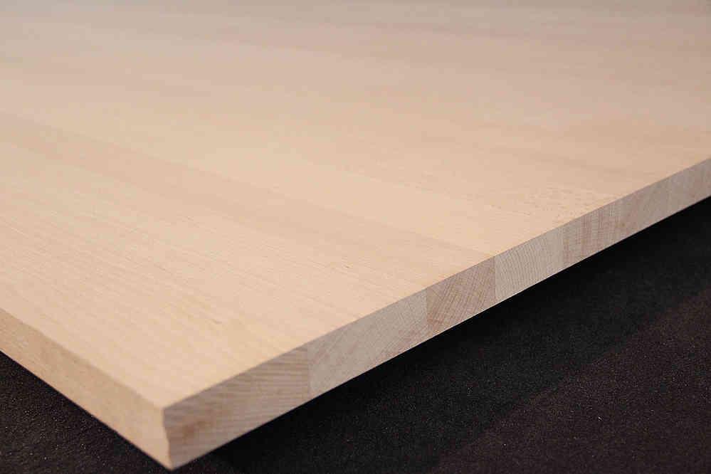 Bevorzugt Möbelbauplatte Massivholz Buche FSC® DL 26 x diverse Längen x 1210 mm AH83