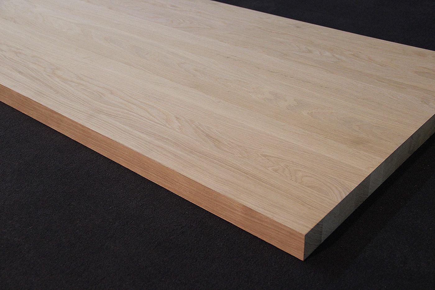 treppenstufenplatte massivholz eiche dl 40 45 x diverse l ngen x 650 mm. Black Bedroom Furniture Sets. Home Design Ideas
