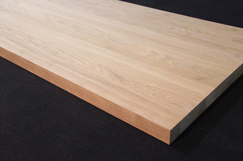 podestplatte massivholz eiche dl 40 45 x diverse l ngen x 1210 mm. Black Bedroom Furniture Sets. Home Design Ideas