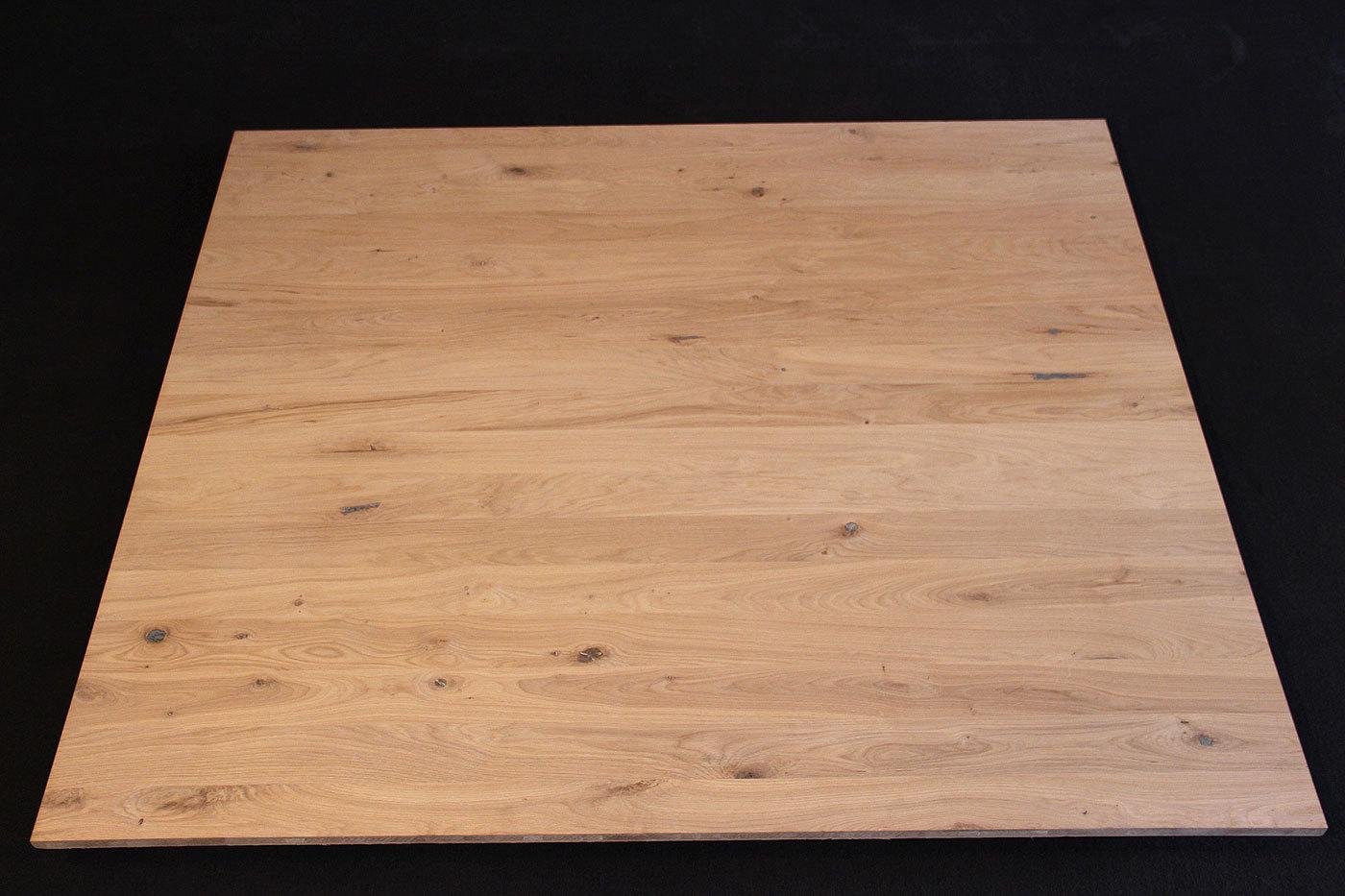 Platte eiche finest bware esstisch slider x x cm platte for Couchtisch 3 platten