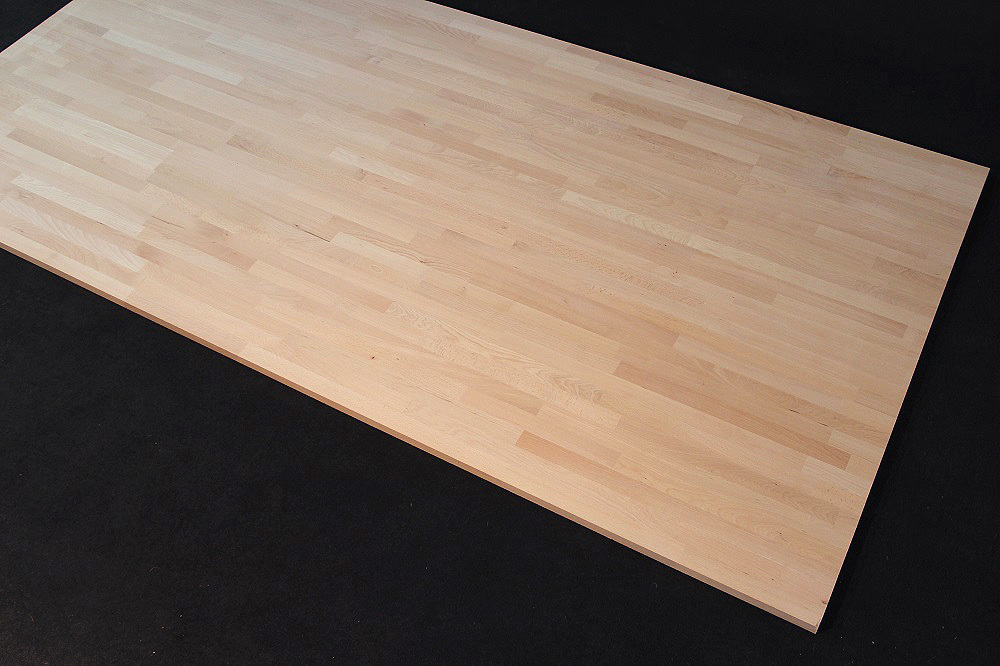 Schön Küchenarbeitsplatte Massivholz Buche kgz FSC® 26/40 x 4200 x 600  QQ23