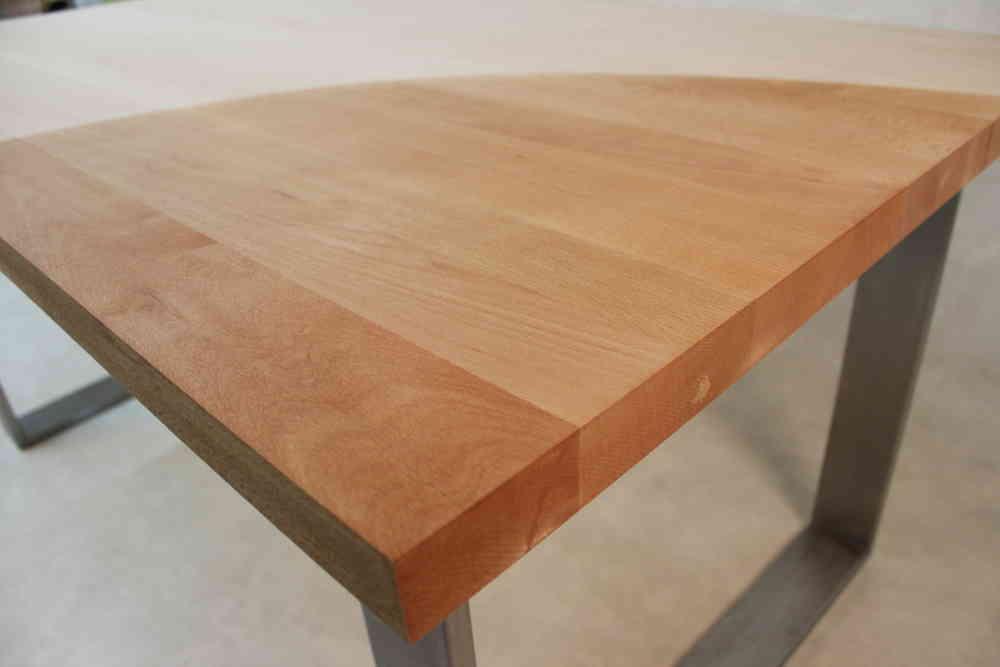 Tischplatte massivholz  Massivholz Buche DL FSC® 40/1600/1000