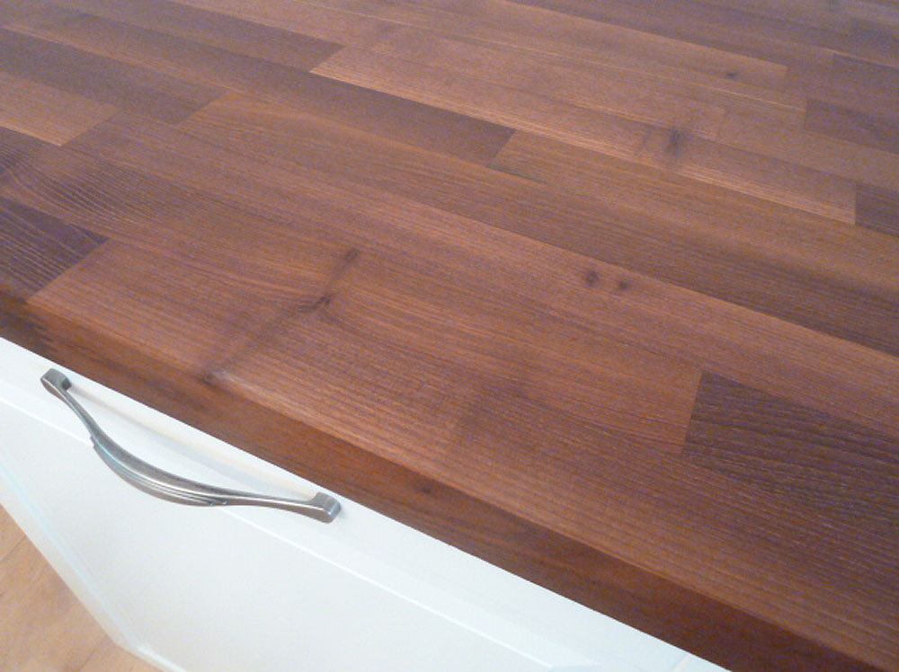 Turbo Arbeitsplatte / Küchenarbeitsplatte Massivholz Akazie / Robinie XC07