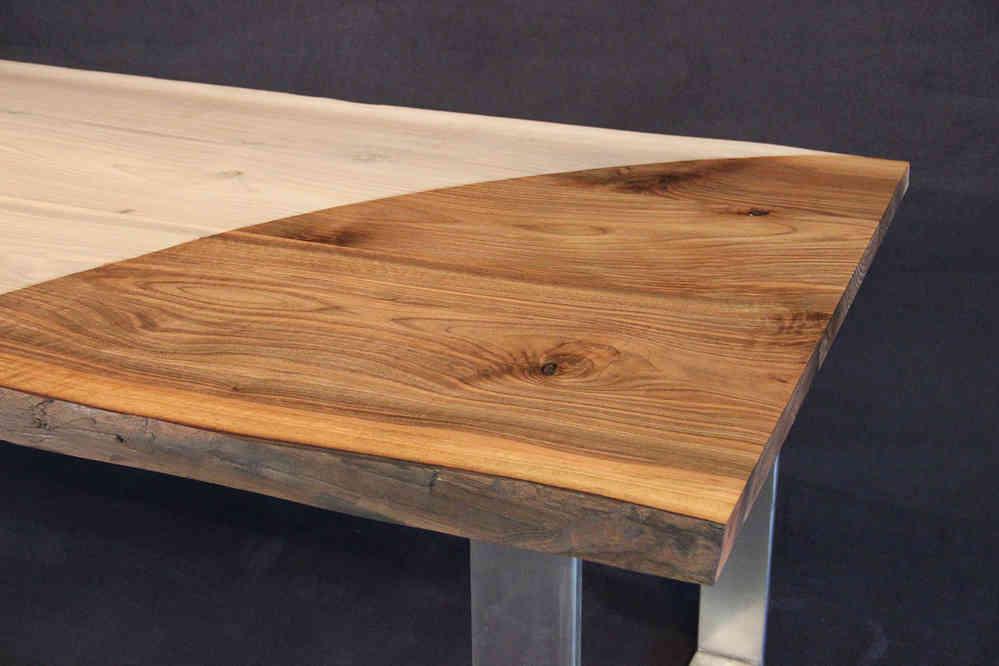 Tischplatte baum zufllig noch irgendwo einen gefllten - Tischplatte ecke ...
