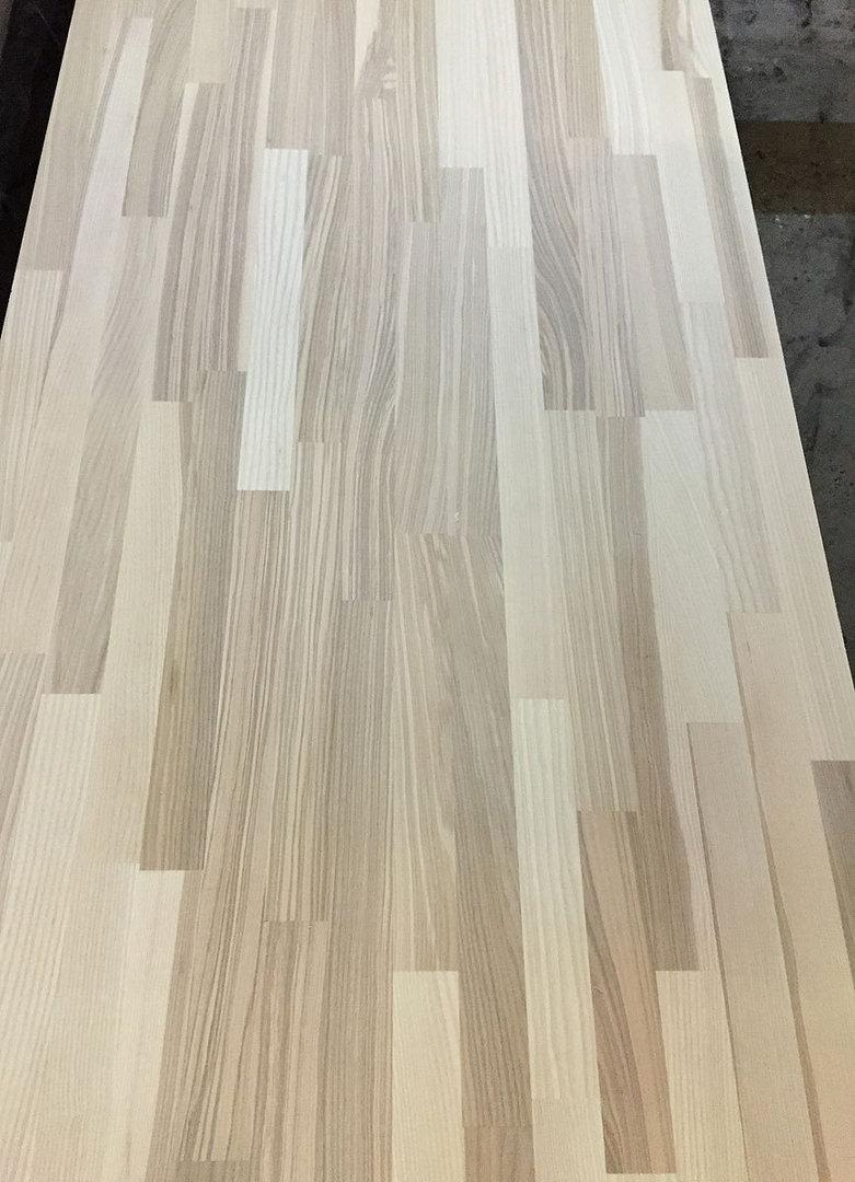 arbeitsplatte k chenarbeitsplatte massivholz kernesche kgz 40 3050 900. Black Bedroom Furniture Sets. Home Design Ideas