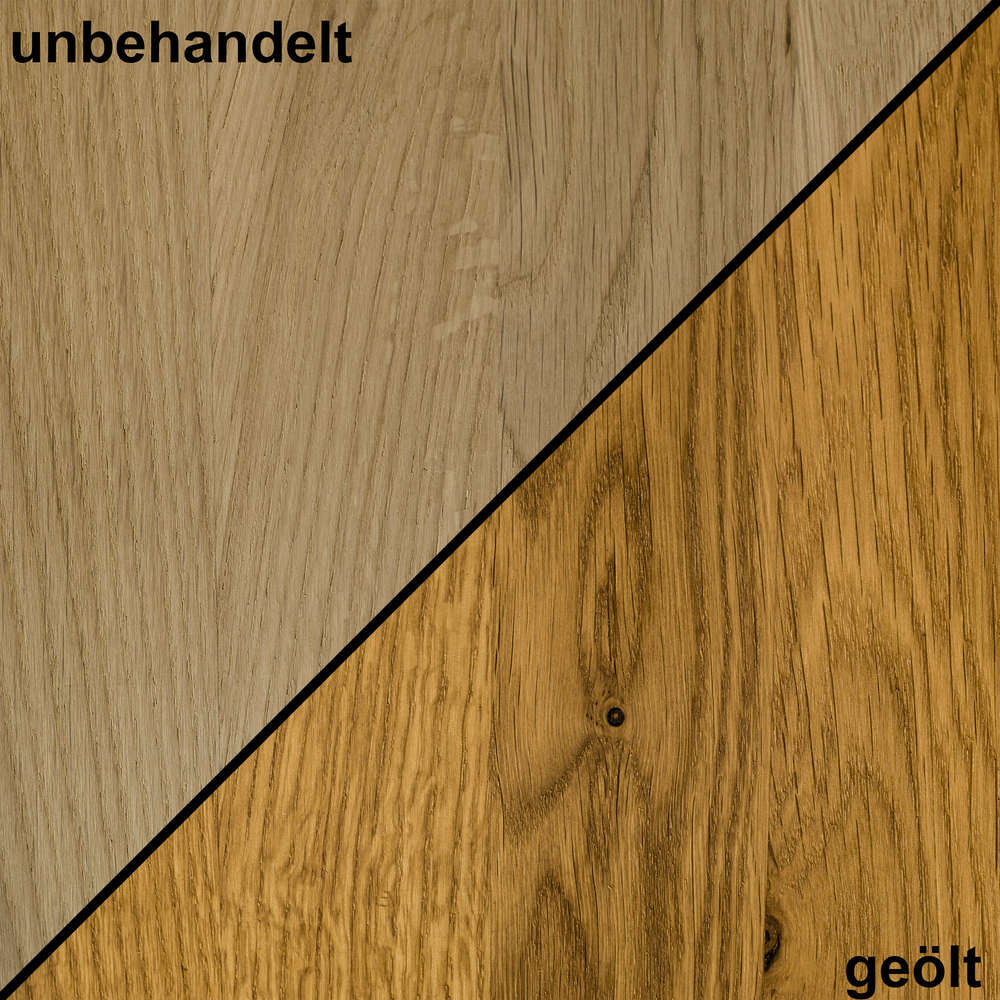 Holzmuster Handmuster Massivholz Eiche Natur Dl