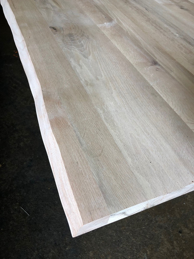 tischplatte massivholz zerreiche baumkante dl 40 2200 1000 mm. Black Bedroom Furniture Sets. Home Design Ideas